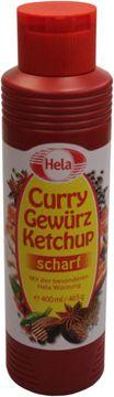 Hela Curry Gewürz Ketchup scharf 400ml – Bild 1