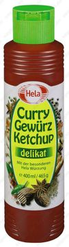 Hela Curry Ketchup Delikat 400ml – Bild 1