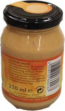 Kattus Sauce Cocktail 250ml – Bild 2