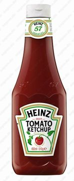 Heinz Tomato Ketchup Squeeze Flasche 450ml