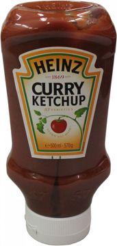 Heinz Curry Ketchup Squeeze Kopfsteher 500ml – Bild 1