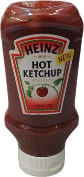 Heinz Hot Ketchup Squeeze Kopfsteher 500ml – Bild 1