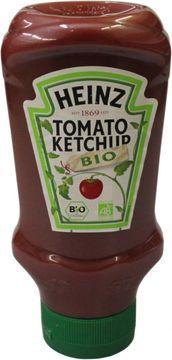 Heinz Bio Ketchup Squeeze Kopfsteher 500ml – Bild 1