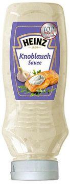Heinz Knoblauch Sauce Kopfsteher 220ml – Bild 1