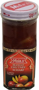 MIDA Mango Chutney hot sliced 200g – Bild 1