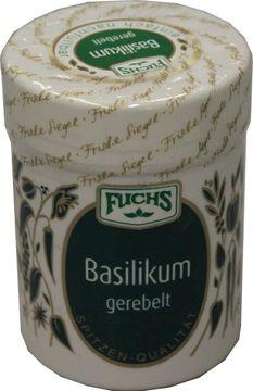Fuchs Basilikum gerebelt 20g – Bild 1