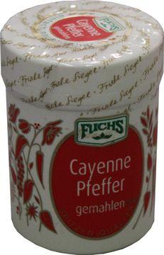 Fuchs Cayenne Pfeffer gemahlen 60g – Bild 1