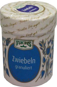 Fuchs Zwiebeln granuliert 70g – Bild 1