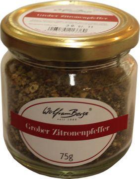Wolfram Berge Grober Zitronenpfeffer 75g