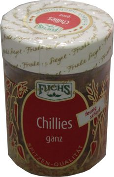 Fuchs Chillies ganz 25g