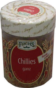 Fuchs Chillies ganz 25g – Bild 1