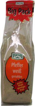 Fuchs Pfeffer weiß gemahlen 200g – Bild 1
