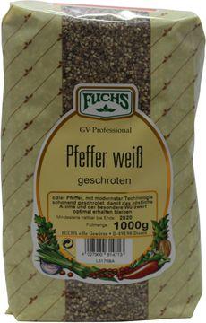 Fuchs Pfeffer weiss geschroten 1kg