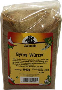 Columbia Gyros Würzer 1kg – Bild 2