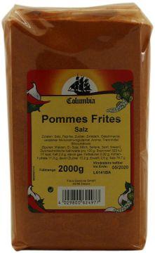 Columbia Pommes Frites Salz 2kg – Bild 2