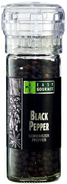Easy Gourmet Gewürzmühle Black Pepper 55g – Bild 1