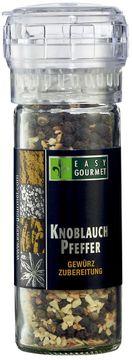Easy Gourmet Gewürzmühle Knoblauch Pfeffer 60g – Bild 1