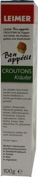 Leimer Croutons Kräuter 100g – Bild 4