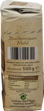 Friessinger Mühle Buchweizen 500g – Bild 2