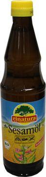 Rinatura Sesamöl Bio 0,5L – Bild 1