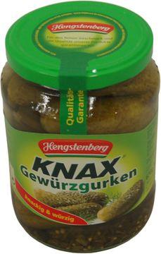 Hengstenberg Gewürzgurken 720g – Bild 1