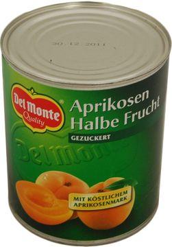 Del Monte Aprikosen 1/2 Frucht 480g – Bild 1