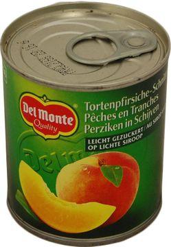 Del Monte Torten-Pfirsiche 140g