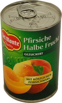 Del Monte Pfirsiche 1/2 Frucht 235g – Bild 1