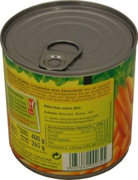 Bonduelle Möhren extrafein 265g – Bild 2
