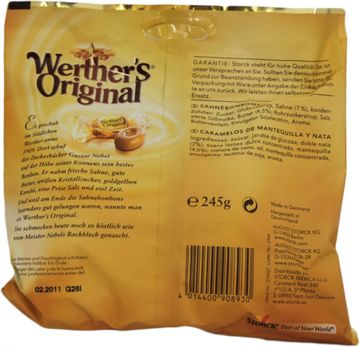 Werthers 245g – Bild 2