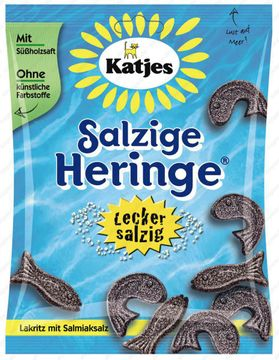 Katjes Salzige Heringe 200g – Bild 1
