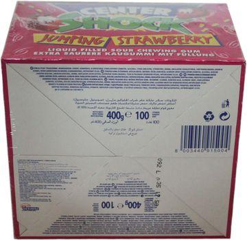 Center Shock Erdbeere 100 Kaugummis – Bild 3