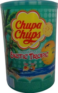 Chupa Chups 3-in-1 Tropical 100 Stück