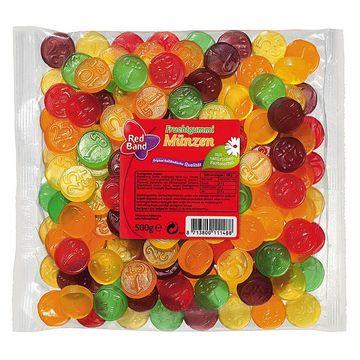 Red Band Fruchtgummi Münzen 500g – Bild 1