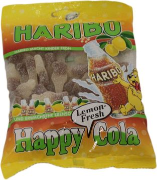 Haribo Happy Cola Lemon Fresh 200g – Bild 2