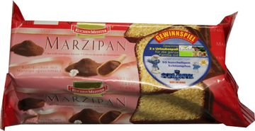 Kuchenmeister Marzipan Kuchen 400g – Bild 1