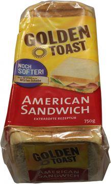 Lieken Golden Toast American Sandwich 750g