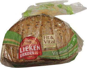 Lieken fit & vital Vitaminbrot 400g – Bild 2