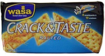WASA Crack & Taste Salted 250g – Bild 1