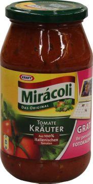 Kraft Miracoli Pastasauce Tomate Kräuter 500ml – Bild 1