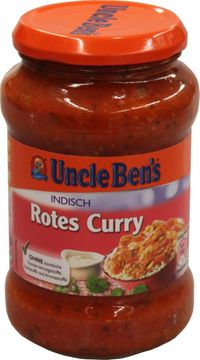 Uncle Bens Fix Indisch rotes Curry 400g