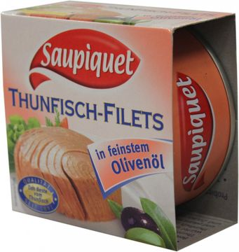 Saupiquet Thunfisch Filet in Olivenöl 130g – Bild 2