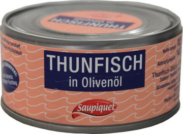 Saupiquet Thunfisch Stückchen in Olivenöl 140g