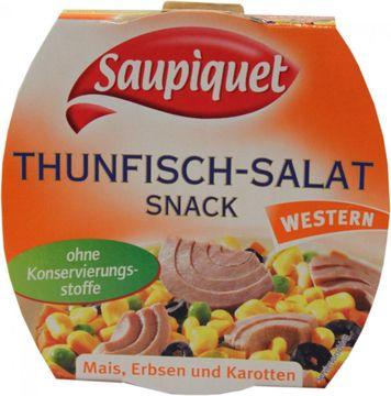 Saupiquet Thunfisch Salat Snack Western 160g