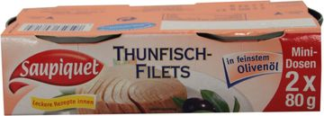 Saupiquet Thunfisch Filet in Olivenöl 104g – Bild 4