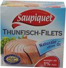 Saupiquet Thunfisch Filet ohne Öl 130g