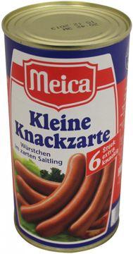 Meica Knackzarte Saitling 250g 6 Stück