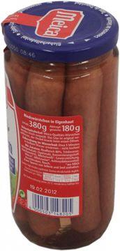 Meica Rindswurst extra zart 180g  – Bild 2