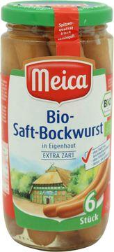 Meica Bio Saft-Bockwurst 180g