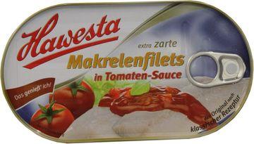 Hawesta Makrelenfilets Tomatensauce 200g
